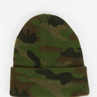 Urban Outfitters - Camo Beanie