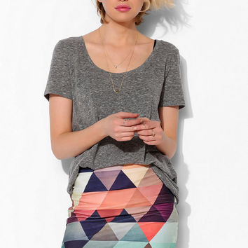 BamBam Geo Bodycon Skirt - Urban Outfitters