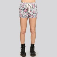 Floral Track Shorts - Gypsy Warrior