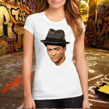 Bruno Mars T Shirt Printed T Shirt, Women T Shirt, (Various Color Available)