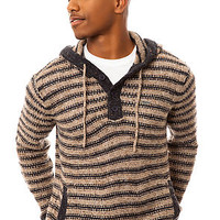 RVCA Sweater Shishaldin Hoody in Oatmeal