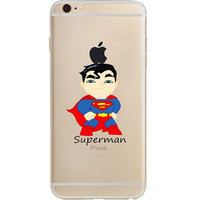 "Superman Jelly Clear Case for Apple iPhone 6/6s (4.7"")"