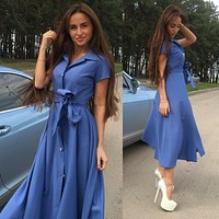 Women's Fashion Hot Sale Prom Dress One Piece Dress [11182506887]