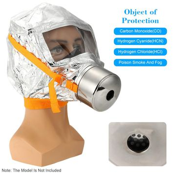 Fire Mask Emergency Escape Mask Oxygen Mask Self-life-saving Respirator 30 Minutes Smoke Toxic Filter Gas Mask