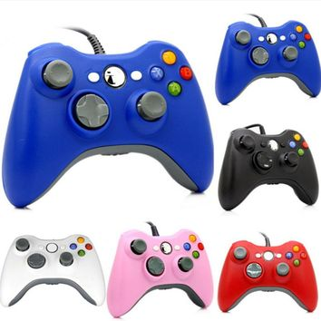 ViGRAND 2017 new 1pcs USB Wired Joypad Gamepad  Controller For Xbox 360 Joystick For Official Microsoft PC for Windows7 / 8 / 10