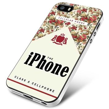 Indie Cases Class A Cellphone Flowers Vintage iPhone 5 | 5S | 5SE Case Planetscase.com