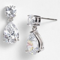 Women's Nadri Cubic Zirconia Teardrop Earrings