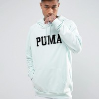 Puma Skate Hoodie With Large Logo In Blue Exclusive to ASOS at asos.com