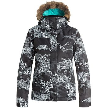 Roxy Jet Ski Snowboard Jacket -Cloud