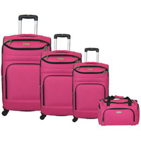 Walmart: McBrine Luggage 4 Piece Luggage Set
