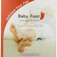 Baby Foot Deep Exfoliation For Feet peel, lavender scented,2.4 fl.oz.
