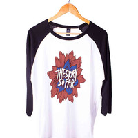 The Story So Far Band Logo Short Sleeve Raglan - White Red - White Blue - White Black XS, S, M, L, XL, AND 2XL*AD*