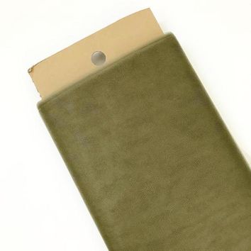 "Olive green 54"" tulle fabric / 1-5 yards"