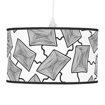 Geometric Cells Ceiling Lamp