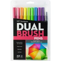 Dual Brush Pens Bright Palette