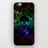 COLORFUL SKULL iPhone & iPod Skin by Acus