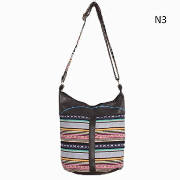 Recycled Rubber Nepali Cotton Shoulder Bag to benefit earthquake relief efforts in Nepal!