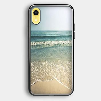 Beach Photography Vintage iPhone XR Case | Casefruits