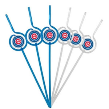 Chicago Cubs Team Sipper Straws