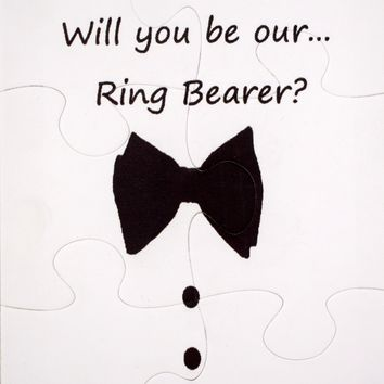 Ask your Ring Bearer Puzzle.  Will you be Ring Bearer Jigsaw Puzzle