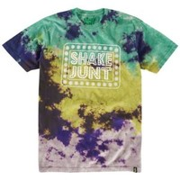 Shake Junt Box Logo Skywalker Tie Dye T-Shirt - Men's at CCS