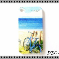 Case iPhone 4, iPhone 4 Case, iPhone Cases 4 - Summer Sea