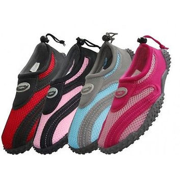 Womens Water Shoes Aqua Socks Surf Yoga Exercise Pool Beach Dance Swim Slip On