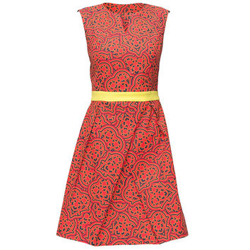 Ethno Patterned Dress