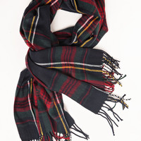 Eve Plaid Knitted Scarf