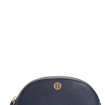 Tory Burch Robinson Small Leather Cosmetic Case | Nordstrom