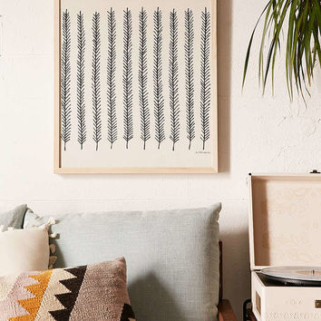 Little Korboose Feather Canvas Wall Art - Urban Outfitters