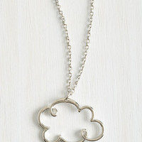 Kawaii Coveting Cumulus Necklace by ModCloth