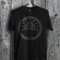 White Tree Gondor Lord of The Rings - zzFzz Unisex T- Shirt For Man And Woman / T-Shirt / Custom T-Shirt