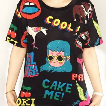 Harajuku Cool Tshirt Designs