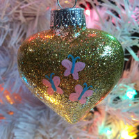 My Little Pony Fluttershy Inspired Ornament