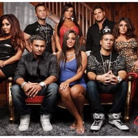 Jersey Shore Cast in Living Room TV Show Poster 11x17