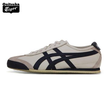 PEAPON Onitsuka Tiger MEXICO66  Unisex Shoes Classical Color Lightweight Men Sport Shoes Breathable Women Sneakers