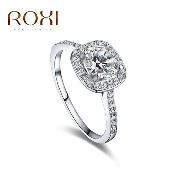 Roxi Trendy Cubic Zirconia Plant Rings For Women