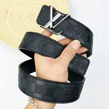 GUCCI trend men and women models wild simple smooth buckle belt