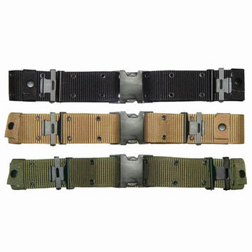 Pistol Belt Color- Black