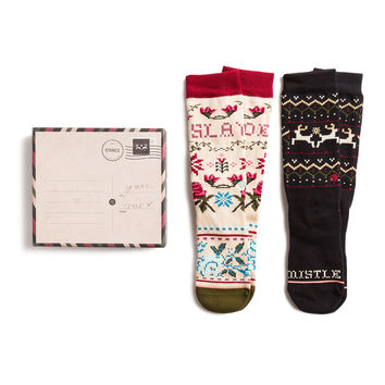 STANCE WOMENS HOLIDAY 2 GIFT BOX SET