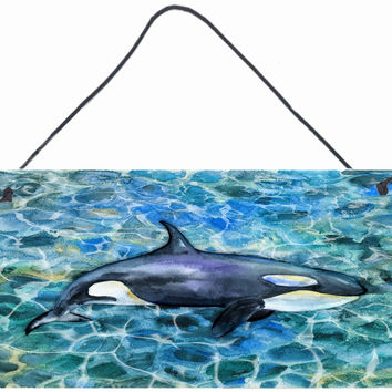 Killer Whale Orca Wall or Door Hanging Prints BB5334DS812