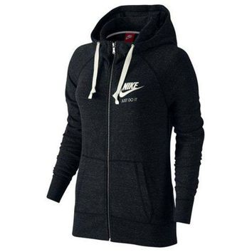 PEAPON NIKE Women Fashion Sport Hooded Top Sweater Hoodie Sweatshirt