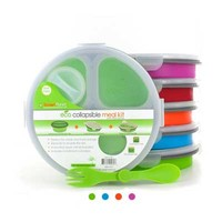 Collapsable Eco Meal Kit (Round 3 Compartment)