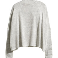 Fine-knit Turtleneck - from H&M