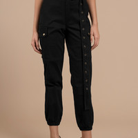 Private Kelly Belted Cargo Pants