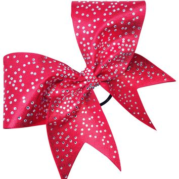 Mustique bow with scattered rhinestones