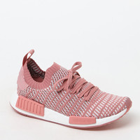 Women's Pink NMD_R1 STLT Primeknit Sneakers - pink | PacSun