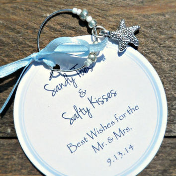 Custom Wine Charm Favors for Birthdays from MailmansDaughter on