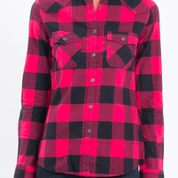 Women's Shirts - Liberty Shirt Check by Just Add Sugar - Edge Clothing